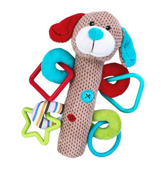 Развивающие игрушки Жирафики Щенок с пищалкой 93681 игрушка с пищалкой пома щенок