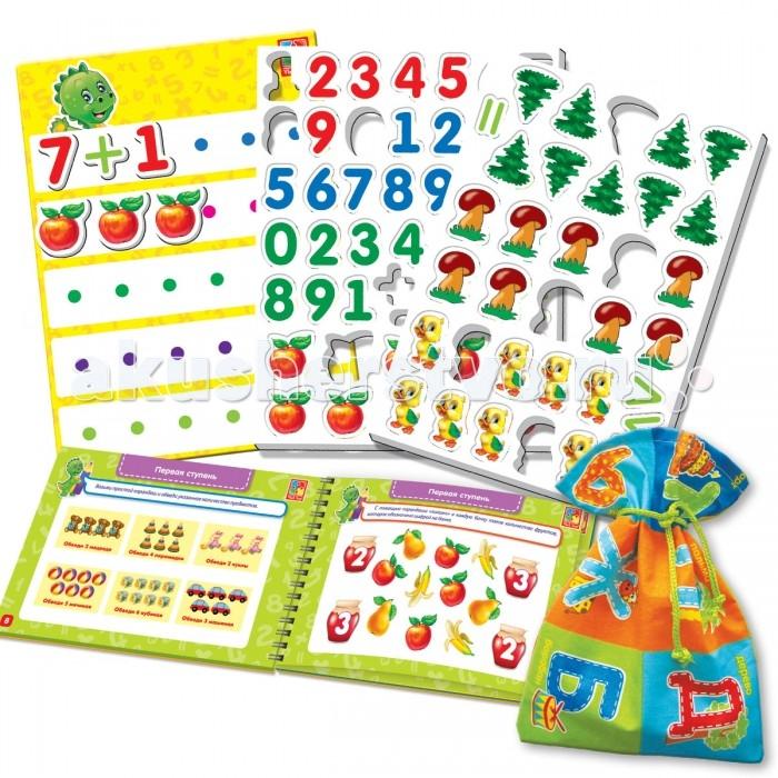 Раннее развитие Vladi toys Настольная игра Больше чем Математика vladi toys настольная игра больше чем азбука vladi toys