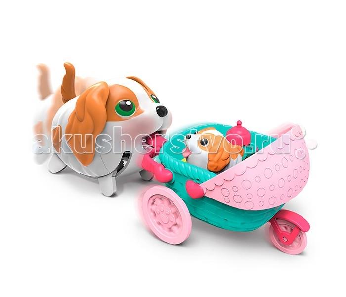 Spin Master Chubby Puppies Щенки ТранспортChubby Puppies Щенки ТранспортChubby Puppies - это очаровательные коллекционные игрушки, уморительные щенки! Они умеют забавно передвигаться, шагая вразвалку, благодаря чему игра с ними становится еще более интересной и увлекательной!   Симпатичные собачки с доброжелательными мордашками наверняка понравятся вашему ребенку! Набор предназначен для увлекательной сюжетно-ролевой игры, выглядит очень ярко и эффектно.  В ассортименте представлены 2 набора: С коляской. В комплект входят: собачка, коляска, миниатюрная фигурка щенка, бутылочка. С лотком с мороженым. В комплект входят: собачка, лоток с мороженым, 2 эскимо.  Игрушка представлена в ассортименте. Цена указана за 1 набор.<br>