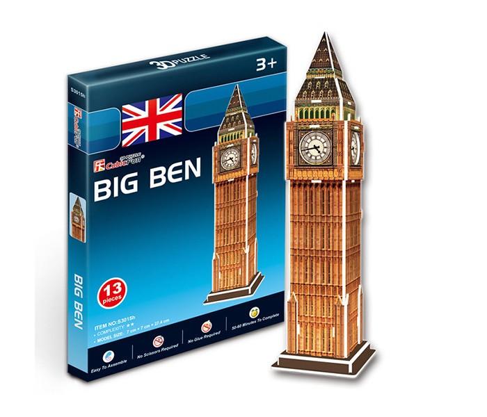 Конструкторы CubicFun 3D пазл Биг бен (Великобритания) мини серия конструктор башня биг бен loz