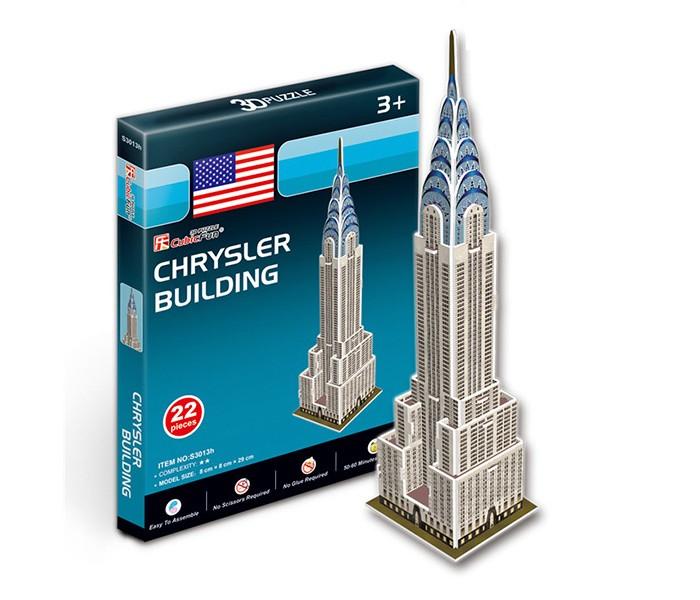 Конструкторы CubicFun 3D пазл Небоскреб Крайслер-билдинг (США) мини серия