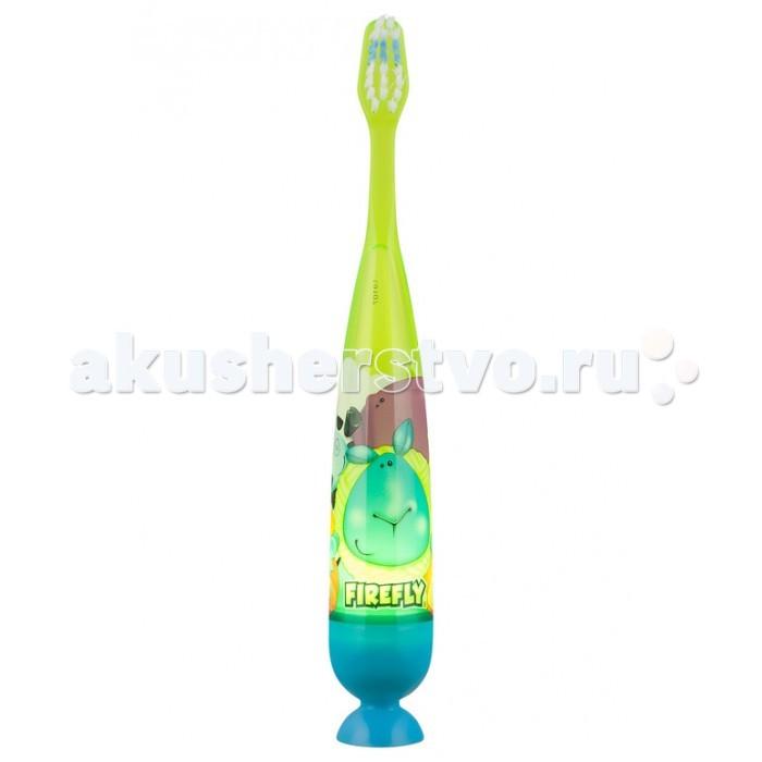 Гигиена полости рта Dr.Fresh Зубная щетка Firefly с мигающим таймером 1 шт.