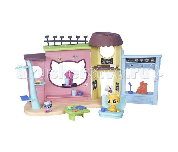 Игровые наборы Littlest Pet Shop Игровой набор Кафе игровые наборы littlest pet shop стильный зоомагазин