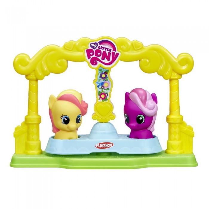 Игровые наборы Май Литл Пони (My Little Pony) Карусель для пони-малышек коллекционный игровой набор my little pony май литл пони библиотека золотой дуб