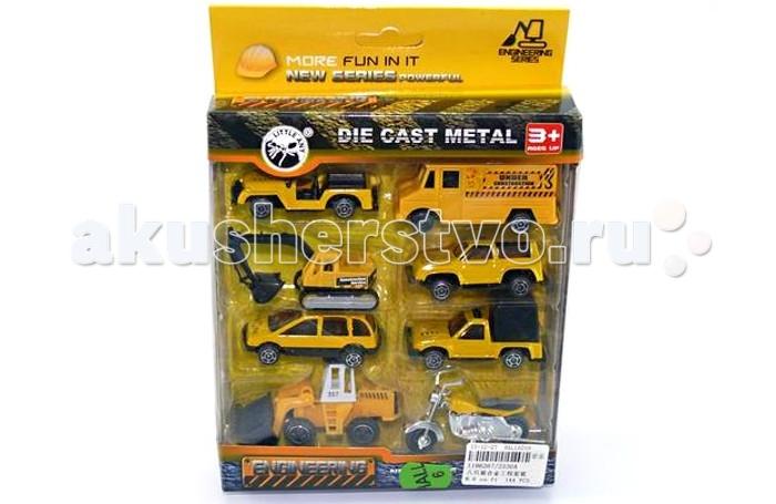 Машины Veld CO Набор машинок стройка 8 шт. подарочные коробки veld co набор из 4 картонных коробок крафт растительный орнамент