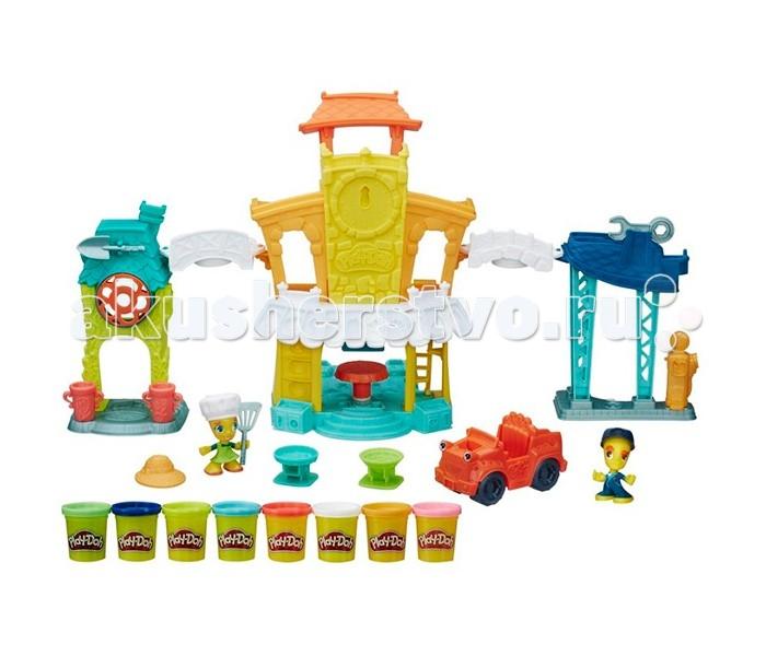 Всё для лепки Play-Doh Игровой набор Главная улица наборы для лепки play doh игровой набор сумасшедшие прически