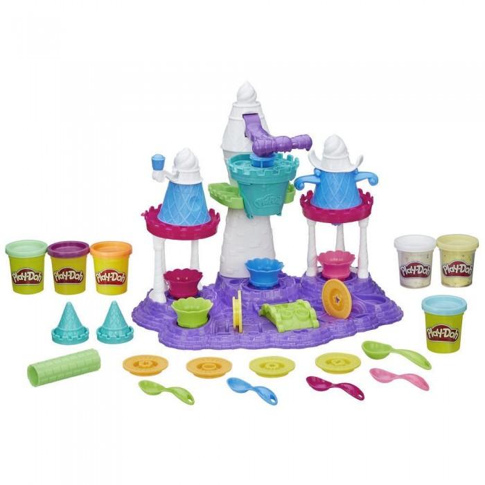 Всё для лепки Play-Doh Игровой набор Замок мороженого набор для лепки play doh сладкий завтрак 6 цветов b9739