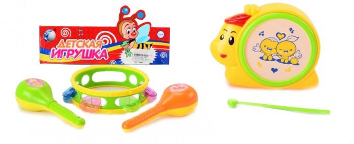 Музыкальные игрушки Veld CO Набор бубен и металлофон veld co бубен и металлофон