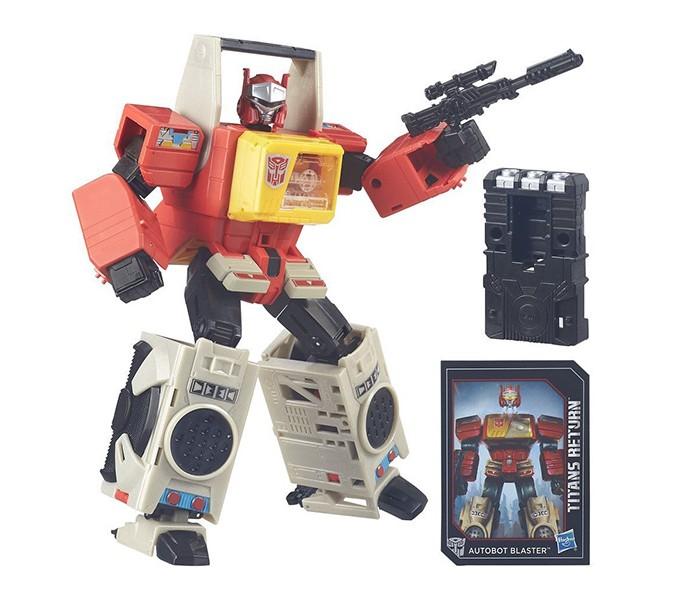 Transformers Трансформеры Дженерэйшенс: Войны Титанов ЛидерТрансформеры Дженерэйшенс: Войны Титанов ЛидерТрансформер – замечательная игрушка для каждого мальчишки, отличный выбор к любому празднику! Эти знаменитые персонажи популярного фильма и мультфильма выглядят весьма внушительно и даже устрашающе, поражает их размер.   У фигурок достаточно сложная, но невероятно занимательная трансформация, что сделает игру с ним еще более интересной и увлекательной.  В ассортименте представлены 2 персонажа: Оптимус Прайм – командир автоботов, «рыцарь без страха и упрека». Трансформируется в грузовик. Бластер – добрый и энергичный автобот, заядлый меломан. Трансформируется в магнитофон.  Игровой набор представлен в ассортименте.<br>
