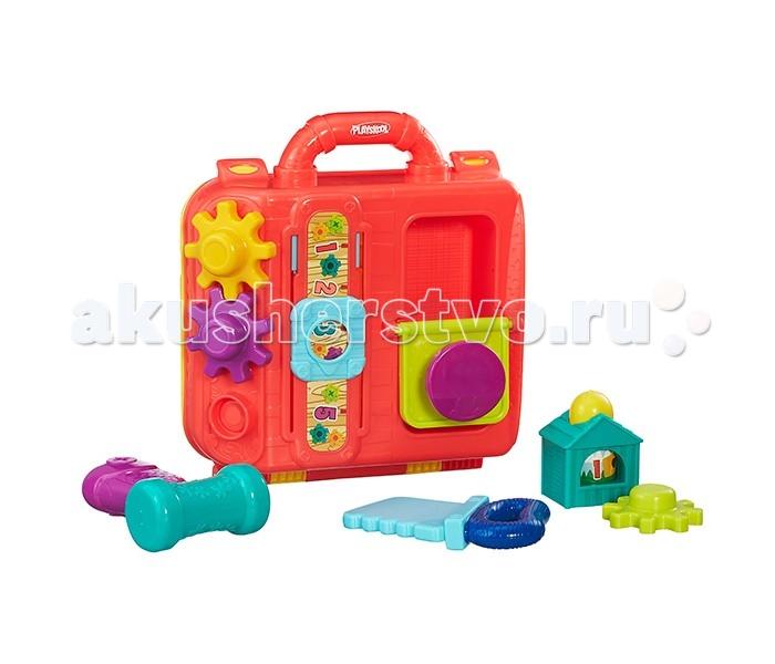 Развивающая игрушка Playskool Hasbro Возьми с собой Моя первая мастерскаяHasbro Возьми с собой Моя первая мастерскаяМоя первая мастерская от всемирно известной компании Playskool - замечательная развивающая игрушка для малышей.   Благодаря большому количеству деталей и элементов игрушки у ребенка появляется множество возможностей для различных игр.   Такой набор, несомненно, поспособствует раннему развитию крохи.   А когда малыш вдоволь наиграется - просто соберите игрушки в удобный чемоданчик, закройте его и уберите на полку - в собранном виде Мастерская не занимает много места, ее удобно брать с собой, например, в путешествие или в гости.<br>