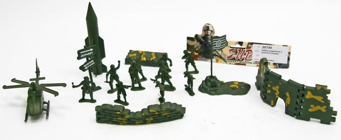Игровые фигурки Veld CO Набор солдатиков с аксессуарами sunjade набор солдатиков восточный воин