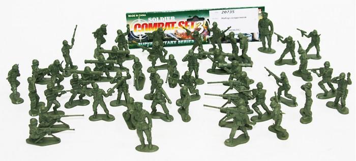 Игровые фигурки Veld CO Набор солдатиков 20735  sunjade набор солдатиков восточный воин