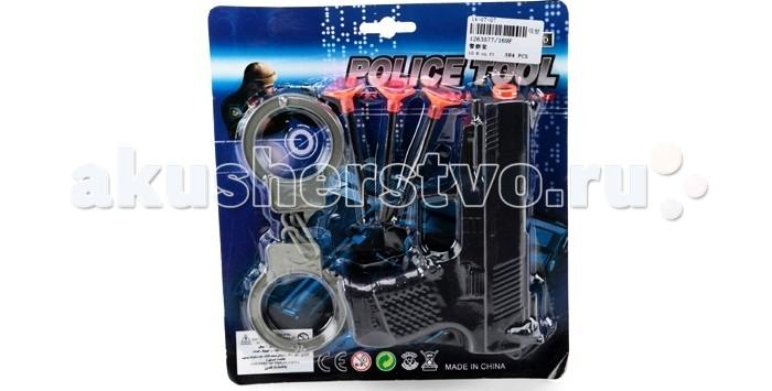 Ролевые игры Veld CO Набор полицейского 40040 ролевые игры veld co набор бытовой техники 47277