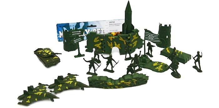 Игровые фигурки Veld CO Набор солдатиков с аксессуарами 20734 игровые коврики veld co коврик с машинками