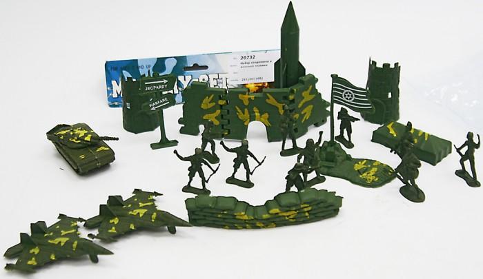 Игровые фигурки Veld CO Набор солдатиков 20732  sunjade набор солдатиков восточный воин