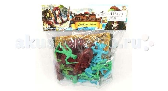 Игровые фигурки Veld CO Набор пиратов зверев с скаты против пиратов
