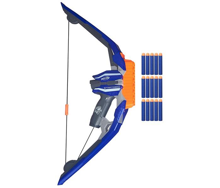 Игрушечное оружие Nerf Hasbro Игрушечный Бластер Элит Лук игрушечное оружие nerf hasbro элит 3 ракеты