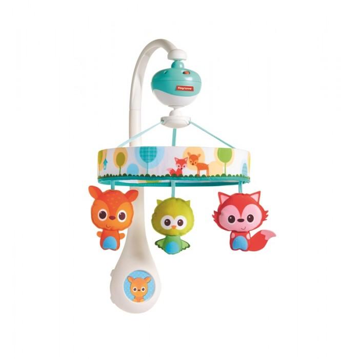 Мобиль Tiny Love Маленькие друзья (звук, движение)Маленькие друзья (звук, движение)Мобиль на детскую кроватку Маленькие друзья от торговой марки Tiny Love будет радовать малыша и подарит ему много положительных эмоций. Его можно без особых усилий прикрепить к борту детской кроватки. Игрушка имеет встроенный звуковой модуль, в память которого заложено пять веселых детских мелодий. К мобилю крепятся три забавные игрушки, которые будут развлекать малыша. Игрушки-подвески выполнены из мягких материалов в ярких насыщенных цветах. Игрушки могут вращаться. Данная функция и воспроизведение мелодий работают только при наличии батареек.  Особенности:   Размер упаковки: 33 x 25 x 7 см Время игры: 30 мин. Вес: 1,06 кг<br>