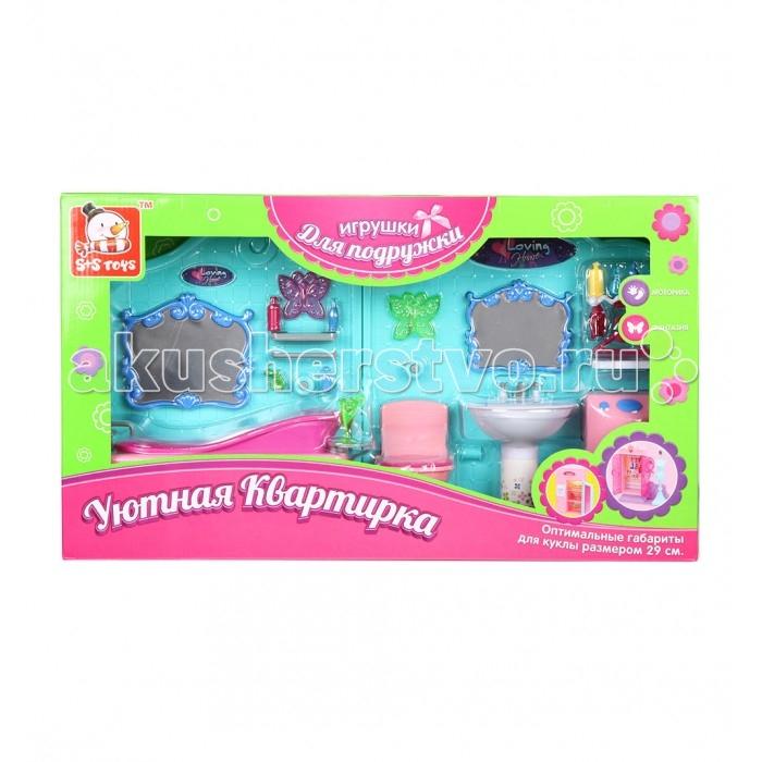 Кукольные домики и мебель S+S Toys Мебель для куклы в наборе ES-2989 куклы s s функциональная кукла