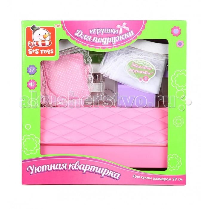 Кукольные домики и мебель S+S Toys Мебель для куклы в наборе ES-SR2026 s s toys собачка тяпа es 9118d