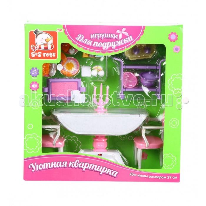Кукольные домики и мебель S+S Toys Мебель для куклы в наборе ES-SR2032 s s toys собачка тяпа es 9118d