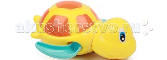 Игрушки для ванны Игруша Игрушка для ванны Черепашка с заводным механизмом подвеска музыкальная с заводным механизмом