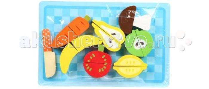 Игровые наборы Игруша Набор игровой Фрукты и овощи игнатова а овощи и фрукты
