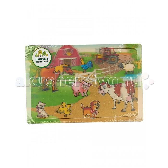 Деревянные игрушки Фабрика фантазий Пазлы 49243 деревянные игрушки фабрика фантазий сортер бабочка