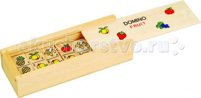 Деревянные игрушки Фабрика фантазий Домино 49249