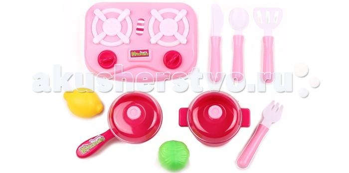 Кукольные домики и мебель Игруша Посуда для кукол 9 предметов ролевые игры игруша игровой набор посуда для кукол i 616 6