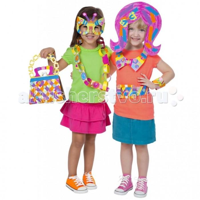 Alex Аппликации из цветной бумаги Маленькие модницы