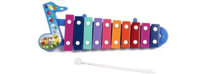 Музыкальные игрушки Игруша Ксилофон с музыкальной ноткой музыкальные инструменты smoby музыкальный инструмент ксилофон