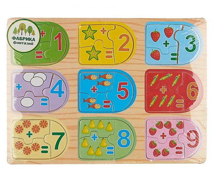 Деревянные игрушки Фабрика фантазий Вкладыши 49252 деревянные игрушки фабрика фантазий сортер бабочка