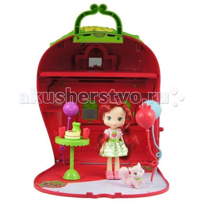 Strawberry Shortcake Шарлотта Земляничка 15 см с домом и аксессуарами