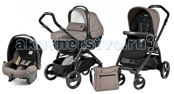 Коляска Peg-perego Book Pop-Up Set XL Sportivo Modular System 3 в 1