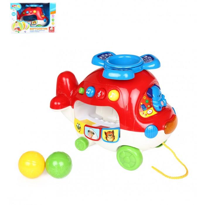 Вертолеты и самолеты S+S Toys Игрушка Вертолетик на батарейках s s toys электронная игрушка смартфон цвет розовый
