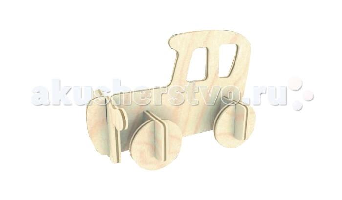 Конструкторы Мир деревянных игрушек Сборная модель Автомобиль Б27 конструкторы мир деревянных игрушек сборная модель корабль охранник