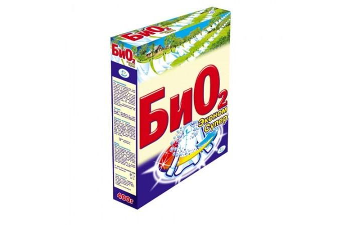 Бытовая химия БиО2 Стиральный порошок Ручная стирка Супер Эконом 400 г