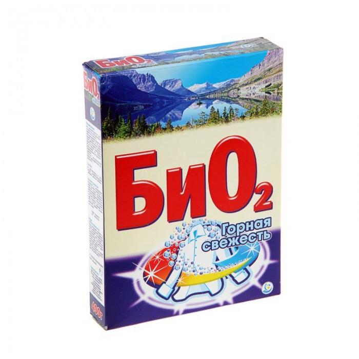 Бытовая химия БиО2 Стиральный порошок Ручная стирка Горная Свежесть 400 г flora express лунная соната