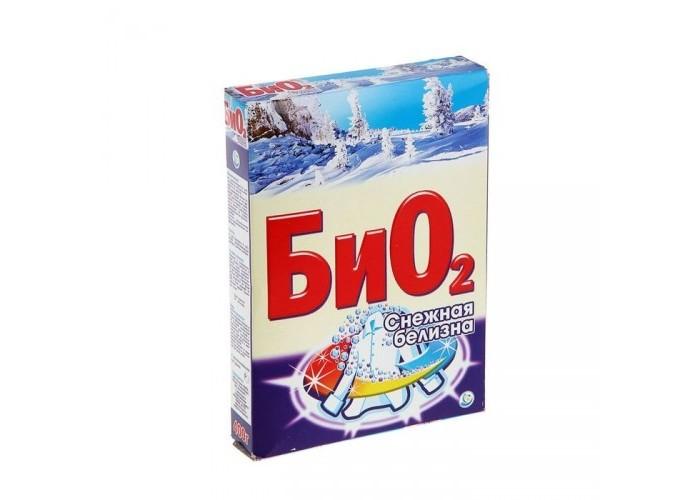 Бытовая химия БиО2 Стиральный порошок Ручная стирка Снежная Белизна 400 г
