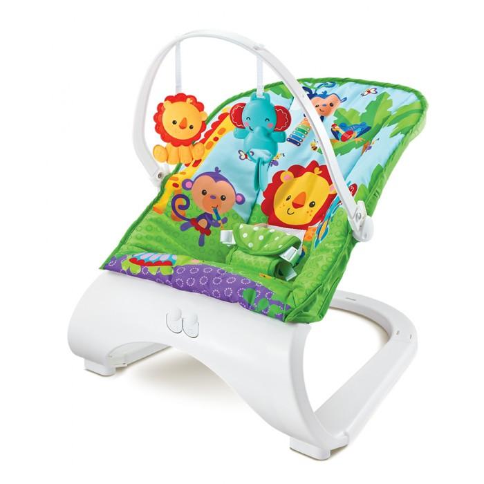 FitchBaby Кресло-качалка с игрушками и вибрацией Forest Friends 88929Кресла-качалки, шезлонги<br>FitchBaby Кресло-качалка с игрушками и вибрацией Forest Friends 88929  Красиво в комнате - удобно для малыша!   Особенности: Используйте для бодрствования или короткого сна. Для использования с самого рождения. Максимальный вес ребенка - 9 кг. Съемная дуга с 2-мя веселыми игрушками. Регулируемый 3-х точечный удерживающий ремень. Мягкий материал сиденья приятный на ощупь. Блок успокаивающей вибрации и музыка в комплекте.  Мягкое сиденье можно стирать в машине используя щадящие режимы. Для работы вибрации и музыки необходимы 4 батарейки типа АА - которые не входят в комплект поставки.