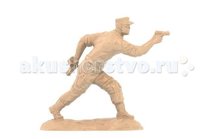 Игровые фигурки Нордпласт Солдаты Морские котики США Стрелок знак отличный стрелок ркка