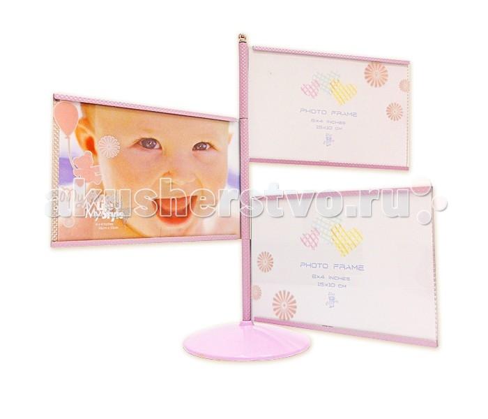 Детская мебель , Фотоальбомы и рамки Veld CO Фоторамка 13881 10х15 (3) арт: 229381 -  Фотоальбомы и рамки