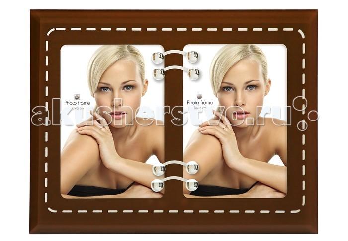Фотоальбомы и рамки Veld CO Фоторамка 14311 10х15 (2) фотоальбомы и рамки spiegelburg фоторамка 9980412