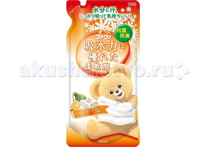 Детские моющие средства NS Fa-Fa Кондиционер для детского белья Цитрусовые фрукты абсорбирующий запасной блок 500 мл fa