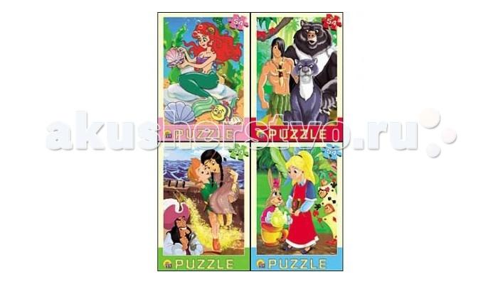 Рыжий кот Пазл Любимые мультфильмы 54 элементов
