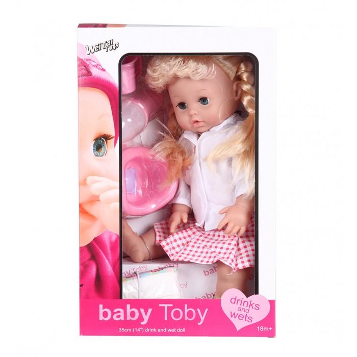 Wei Tai Toys Кукла в наборе с аксессуарами 35 см на батарейкахКукла в наборе с аксессуарами 35 см на батарейкахWei Tai Toys Кукла в наборе с аксессуарами 35 см на батарейках wttT9290  Эта очаровательная кукла приведет в восторг любую малышку! Ваша малышка больше не будет скучать, ведь вместе с этой куклой она сможет придумать множество увлекательных развлечений.  Высота куклы: 35 см<br>