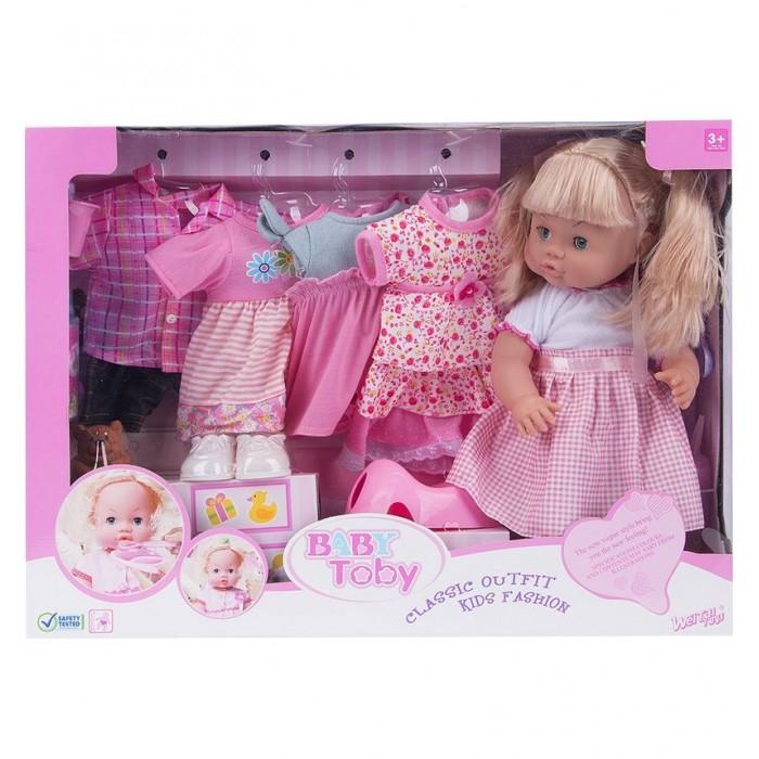 Wei Tai Toys Кукла в наборе с аксессуарами 39 см на батарейках wttT8206