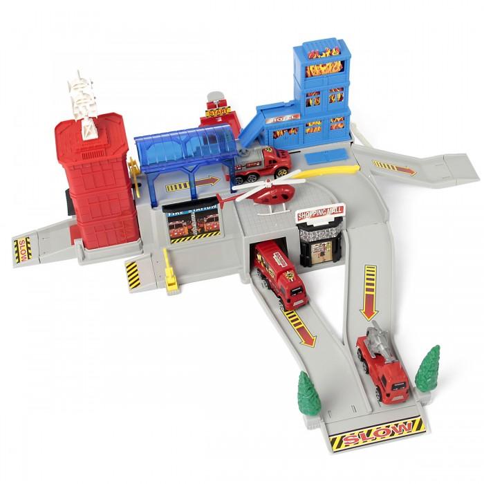 Машины Veld CO Игровой набор Паркинг - Пожарная станция подарочные пакеты veld co набор из 12 пакетов 27 5х33х12 см