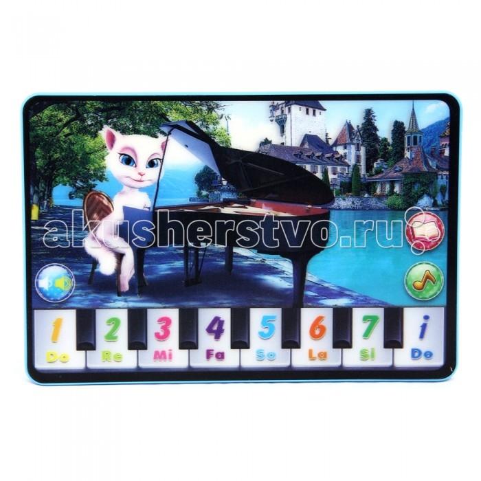 Электронные игрушки Veld CO Планшет Музыкальная кошка детские компьютеры veld co обучающий планшет